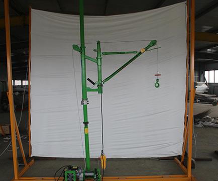 单柱折臂吊运机