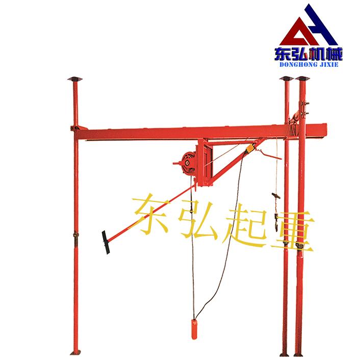 室内单绳直滑吊运机展示图