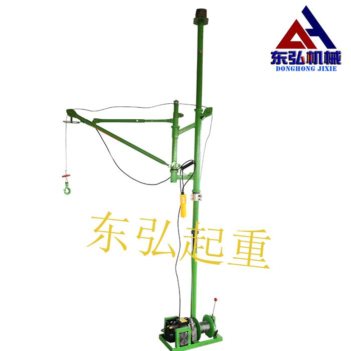 室内单柱折臂式吊运机展示图