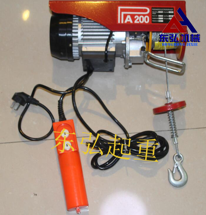 PA200微型电动葫芦