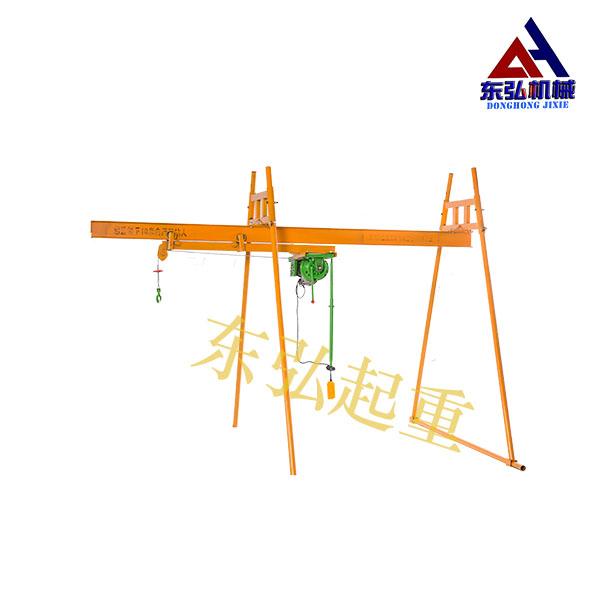 室外四柱吊轨吊运机(工字钢离合器电机)