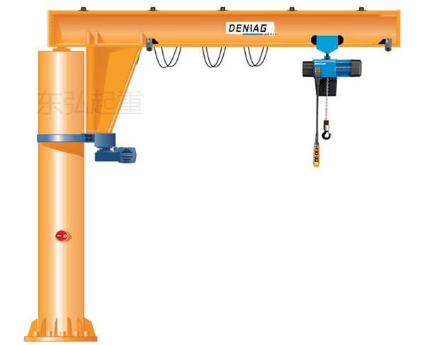 悬臂吊机3吨柱式悬臂吊