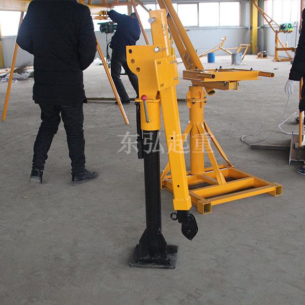 电动折叠式车载小吊机