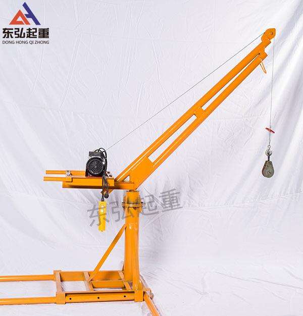 500公斤室外小吊机-500公斤室外吊运机安装图