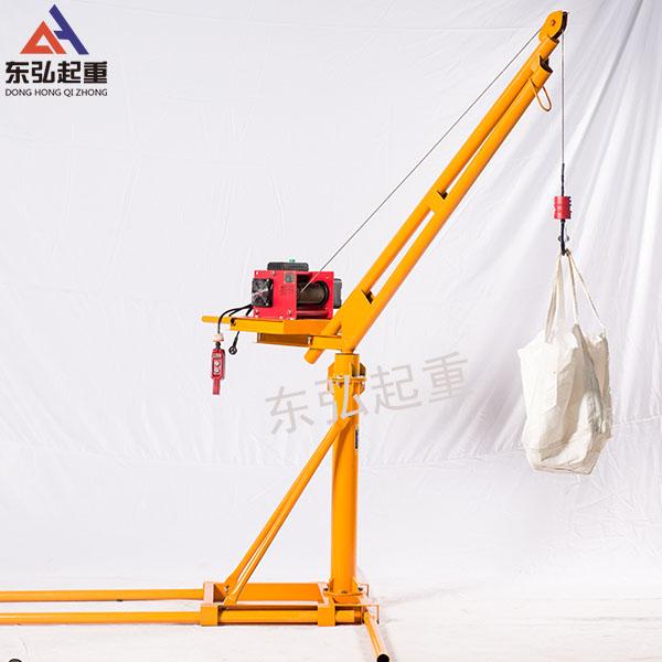 东弘吊沙机-电动升降吊沙机/上料机/小型起吊机