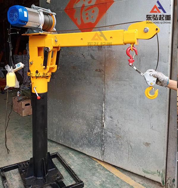 车载悬臂小吊机/0.5吨车载吊运机