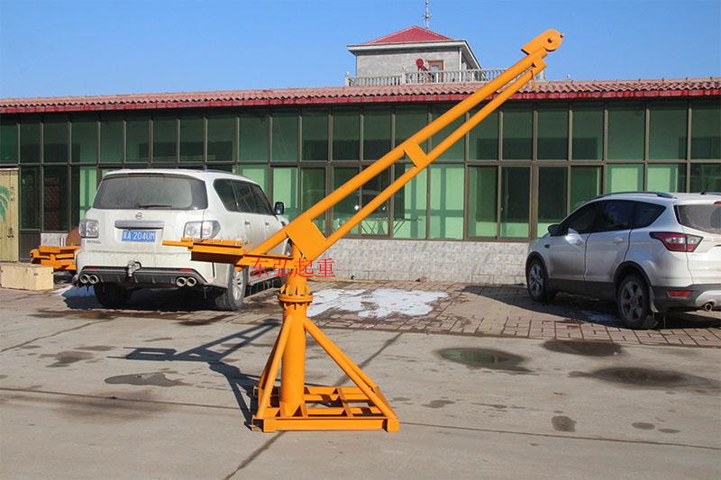 室外吊运机安装与组装步骤