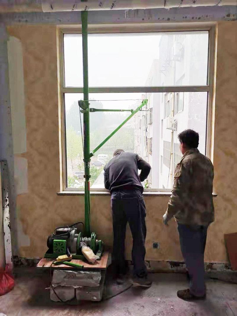 室内快速吊运机/楼房升降
