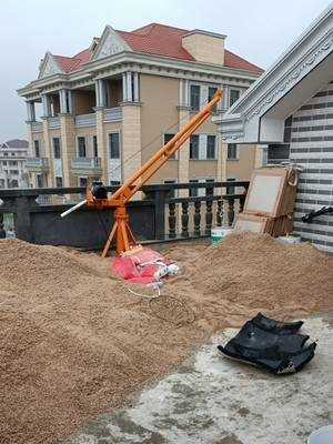 1000公斤建筑工地简易吊机
