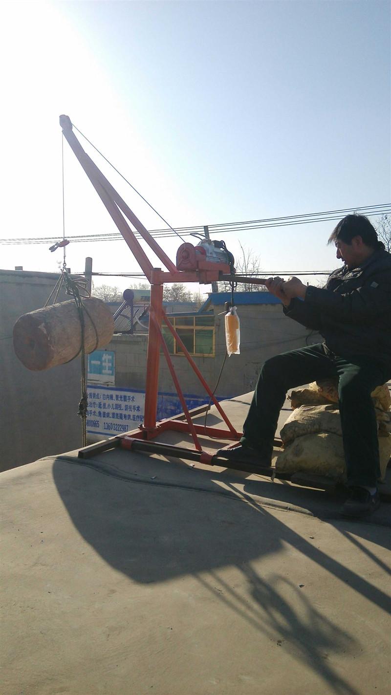 200公斤便携式电动升降机