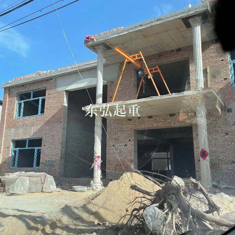 工字钢楼房上料吊机